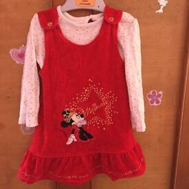 9-12 months Minnie Mouse outfit