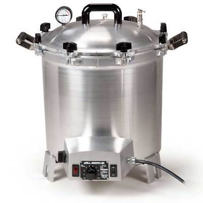 ALL AMERICAN 75X Electric Autoclave Sterilizer Large 41 Quart Benchtop 120V