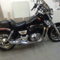 A real classic 1986 Honda Shadow 1100