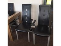 2 dining chairs g.c