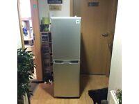 Sorry SOLD 48cm wide fridge freezer (silver)