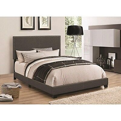 Coaster Home Furnishings 350061Q Queen Bed Charcoal NEW