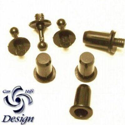 Dübel für Lautsprecher Gehäuse Bespannstoff Akustikstoff 40er Set *375