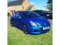 2009 Vauxhall Corsa VXR Blue 1.6petrol turbo low mileage HPI Clear FSH