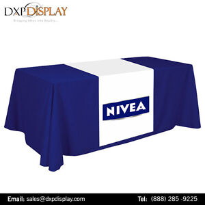 Custom Printed Table Runners with Full Color Graphics