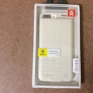 Iphone7 plus battery and protective case