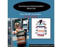Eurovision Lars Erickssong Wool Blend Coat