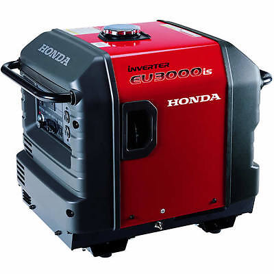 Honda Eu3000i - 2800 Watt Electric Start Portable Inverter Generator 50 Stat...