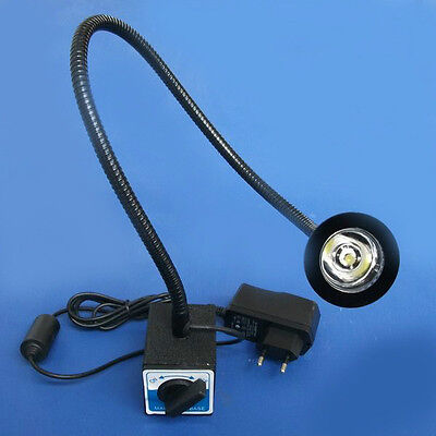 Flexible Led Light Table Desk Spot Lamp Adjustable Switchable Magnet Base