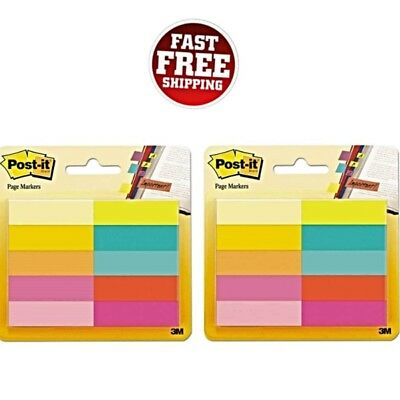 Post-it Page Markers 12 X 2 Inches Organise Important Information Office Study