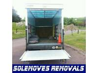 24hr man large size luton van available 24/7 removal