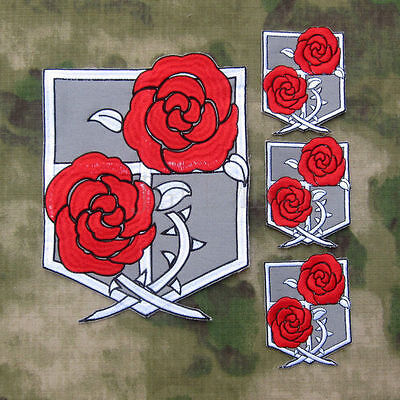 Attack On Titan Iron On Embroidered Patch Emblem Applique