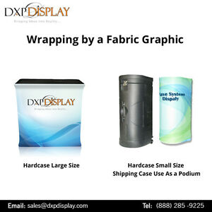 Table Top Fabric Display with High Quality Aluminium