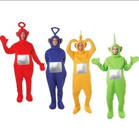 2 X Rubies Teletubby Fancy Dress Outfits