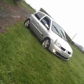 2005 Renault Clio extreme