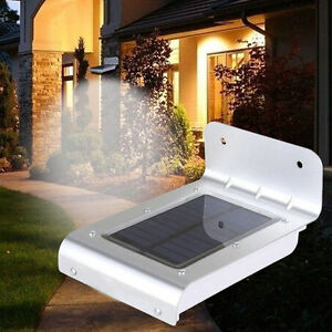 SOLAR MOTION OUTDOOR LIGHTS (7)
