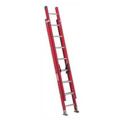 Westward 44yy67 Extension Ladder Fiberglass 16 Ft. Type Ia