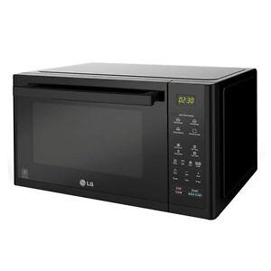 LG MJ 3294 BAB Solar Kombi-Lichtwellenofen Mikrowelle Digitaldisplay schwarz