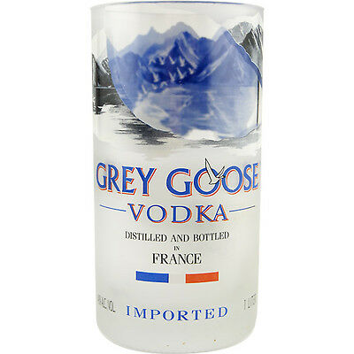 Grey Goose Recycled Bottle Tumbler - 24 oz. - Vodka Lovers Gift Barware Glass