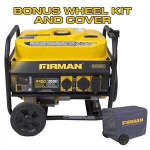Firman Gas-Powered 4,450 Watt Portable Generator