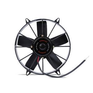 """Mishimoto High Flow Slim Electric Fan 12"""" Black 12v - European Union, Polska - Zwroty są przyjmowane - European Union, Polska"""