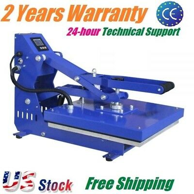 "Used, 16"" x 20"" Horizontal T-shirt Heat Press Machine Clamshell Sublimation Printing for sale  Rowland Heights"