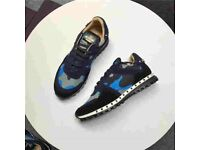 Valentino Camouflage Trainers Rockrunners
