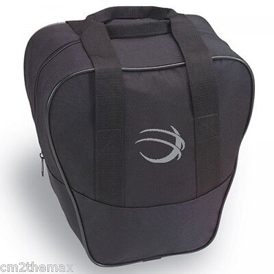 NIB BSI Nova bowling ball Bag BLACK w Free glove liner & free ship in USA