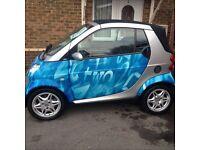 Smart Car Cabriolet