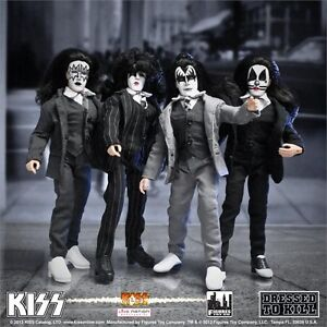 KISS-DRESSED-TO-KILL-8-FIGURES-DOLLS-set-of-four