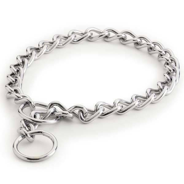 Choke Chain Collar, USA Seller, All Sizes! Dog Pet Training Choker Guardian Gear