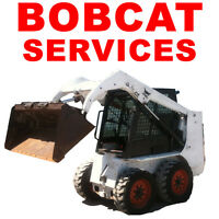 BOBCAT FOR HIRE (SkidSteer) LANDSCAPING SERVICES