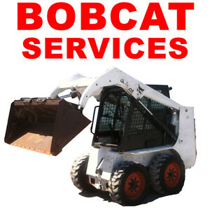 BOBCAT FOR HIRE (SkidSteer) LANDSCAPING SERVICES Peterborough Peterborough Area image 1