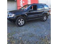 2004 Jeep Grand Cherokee 2.7 diesel full mot 4 wheel drive auto