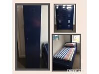 Boys single bed metal frame and matching bedroom furniture from NEXT