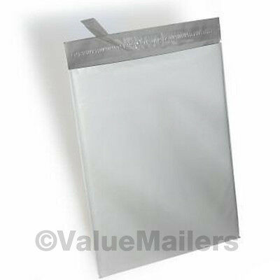 200 Bags 100 Each 9x12 12x15.5 White Poly Mailers