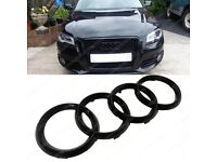 Audi blacked out badges