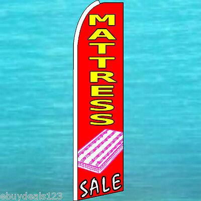 Mattress Sale Flutter Feather Flag Advertising Sign Bow Banner Swooper