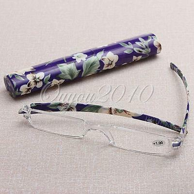 Presbyopic Reading glasses with Case +1.00 +1.50 +2.00 +2.50 +3.00 +3.50 +4.00