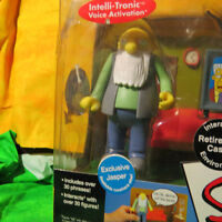 The Simpsons Retirement Castle Playset with Jasper