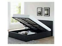 Double 4ft6 ottoman storage bed flat packed easy assembled