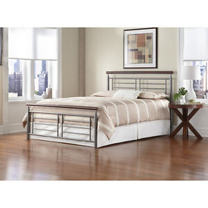 #TELUSHelpsMeSell Fontane Bed Queen (Head and Footboard)