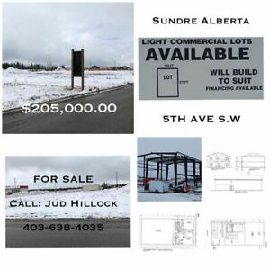 Light Commercial Lot - Sundre, AB