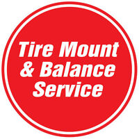 TIRE MOUNT & BALANCE FROM $22/TIRE CALL (403) 693-0085