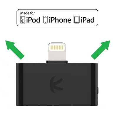 KOKKIA i10L : Lightning Connector Bluetooth Splitter for iPhone,iPad,iPod Touch Ipod Bluetooth Connector