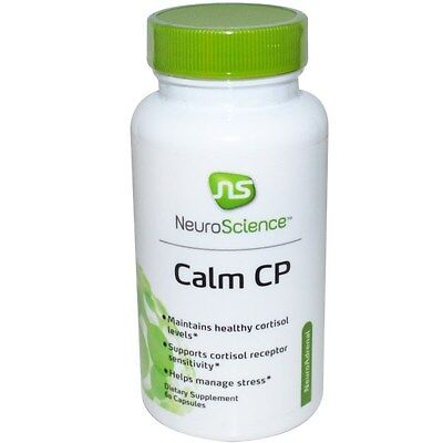 Neuroscience Inc  Calm Cp  60 Capsules  Free Priority Shipping  1 3 Days