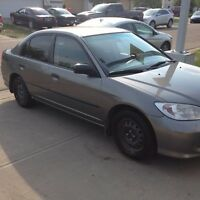 **ONLY 189KM** 2005 HONDA CIVIC SEDAN