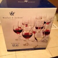Box of wine glasses