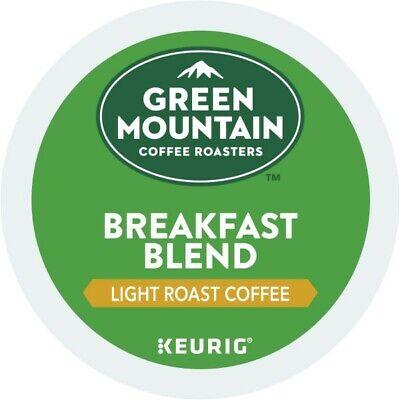 Green Mountain Coffee Breakfast Blend, Keurig K-Cup Pod, Light Roast, 72 Count - Green Breakfast Cup