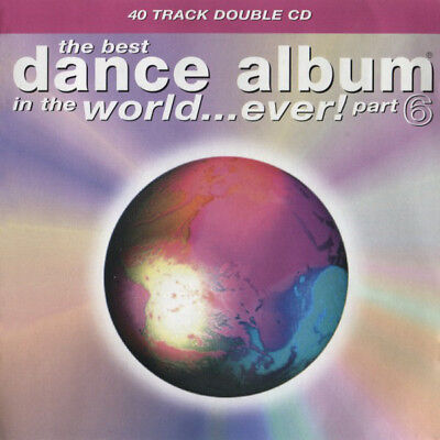 The Best Dance Album In The World Ever - Vol.6 - 2 CDs 40 tracks (1996) Like